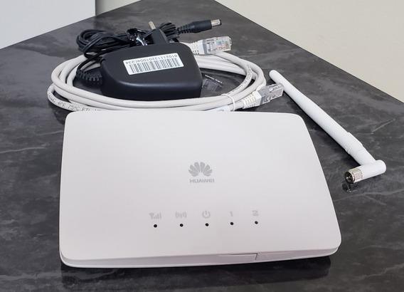 Modem Roteador 2g 3g B68 Huawei Wifi Chip Ent Ant Rural Desb