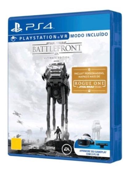 Star Wars Battlefront Ultimate Edition Ps4 Mídia Física Novo