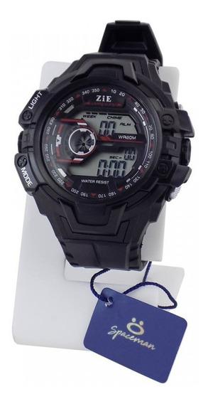Relógio Masculino Preto Original Prova Dágua Esporte Leve