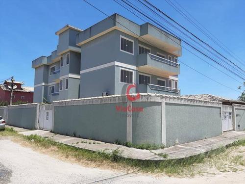 Imagem 1 de 20 de Apartamento À Venda, 58 M² Por R$ 140.000,00 - Chácara Mariléa - Rio Das Ostras/rj - Ap1541