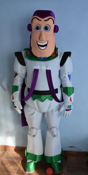 Disfraz Adultos Buzz Lightyear Toy Story Cabezon Impecable!!