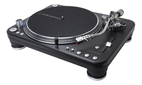 Toca-discos Pro Audio-technica At-lp1240-usbxp Direct-drive Com Capsula At-xp5 Interface Estéreo E Usb - Nfe E Garantia