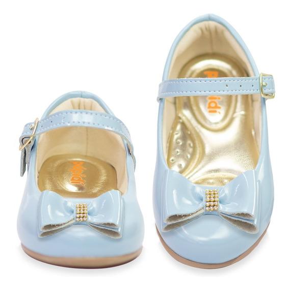 Sapatilha Sapatinho Menina Infantil Batizado Confort 201
