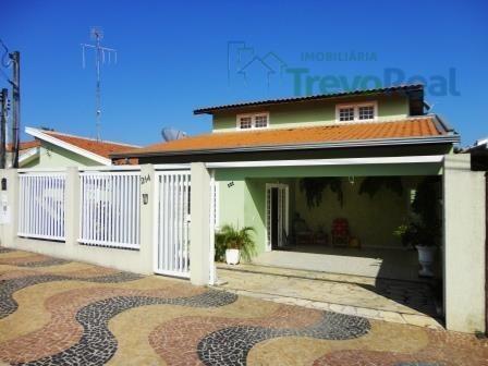Casa Com 4 Dormitórios Para Alugar, 135 M² Por R$ 2.700,00/mês - Vila Santo Antônio - Valinhos/sp - Ca0290