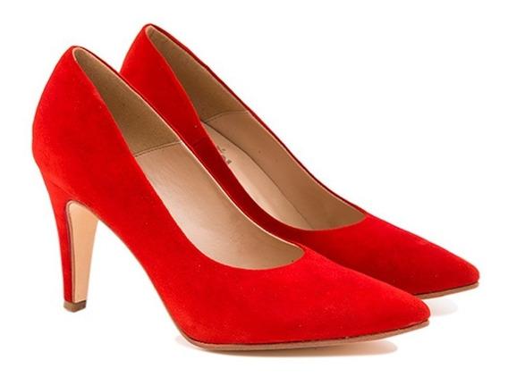 Stilettos Mujer New Fashion 100%cuero Art: 701 De Tallon