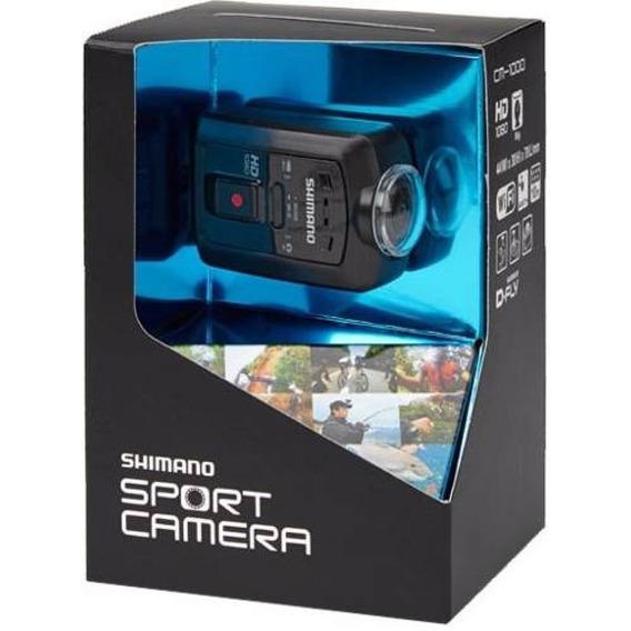 Câmera Shimano Original Sport Hd Cm-1000 Prova Dágual + Nf-e