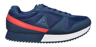 Zapatillas Le Coq Sportif Alpha Urbanas Originales Azul