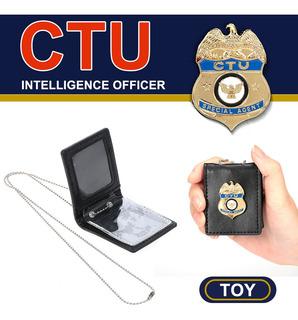 La Policía Finge Los Juguetes Cuello Us Badge Holder Con