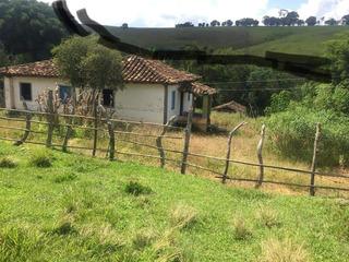 Sítio No Sul De Minas, Cidade De São Tomé Das Letras, Com 24,2 Hectares , Casa , Riacho No Fundo , Ótima Topografia. - 922