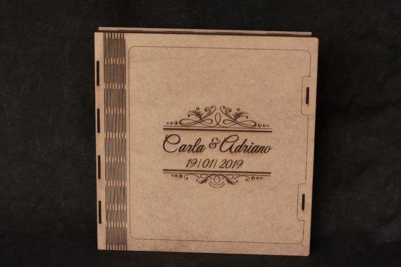 Caixa Para Album Fotolivro 30x30 Estojo Com Gravação A Laser