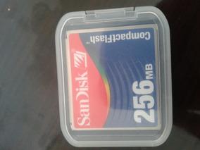 Cartão De Memória Compactflash Sandisk 256mb