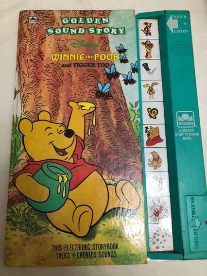 Livro Antigo Ursinho Pooh Artigo Raro De Colecionador