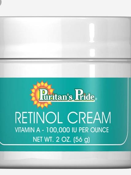 Crema De Retinol (vitamina A 100,000)
