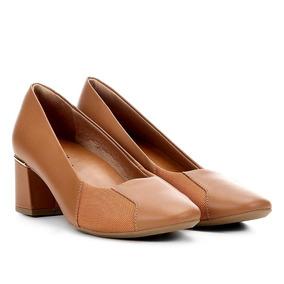 72e80db76 Sapato Scarpin Bege T 38 Usaflex - Scarpins e Plataformas no Mercado ...