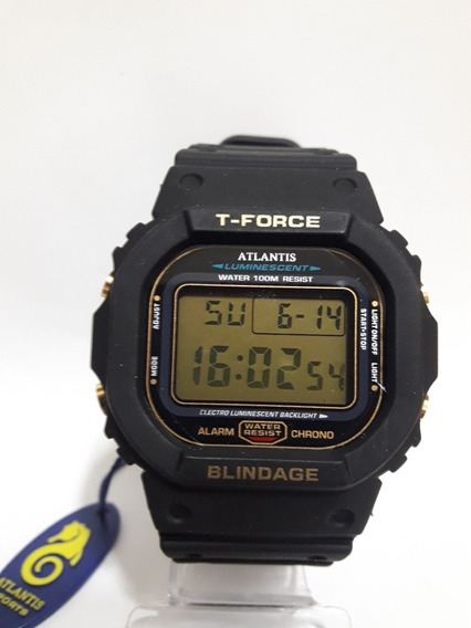 Relógio Digital Esportivo Atlantis T-fource 7305g