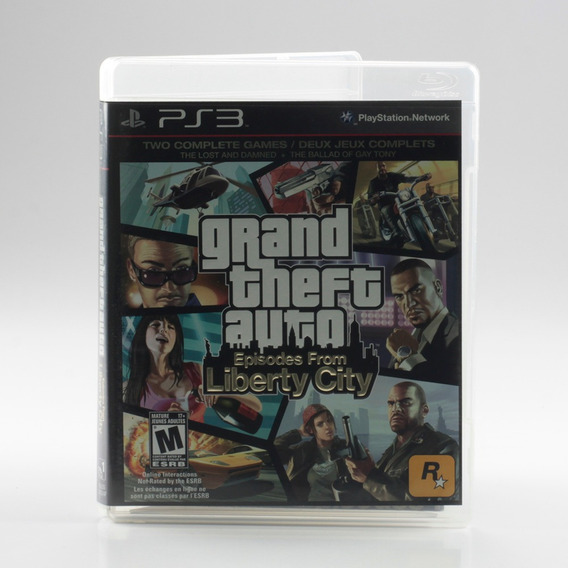 Grand Theft Auto Episodes From Liberty City Ps3 Gta Mídia