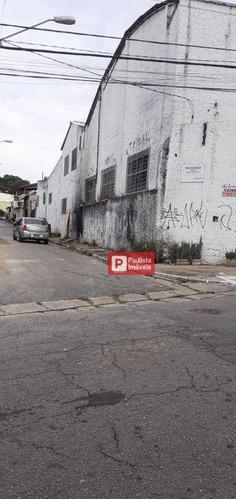 Imagem 1 de 24 de Galpão / Prédio / Armazpem  Para Alugar, 2500 M², Com 80 Vagas  Por R$ 20.000/mês - Vila Água Funda - São Paulo/sp - Ga0606