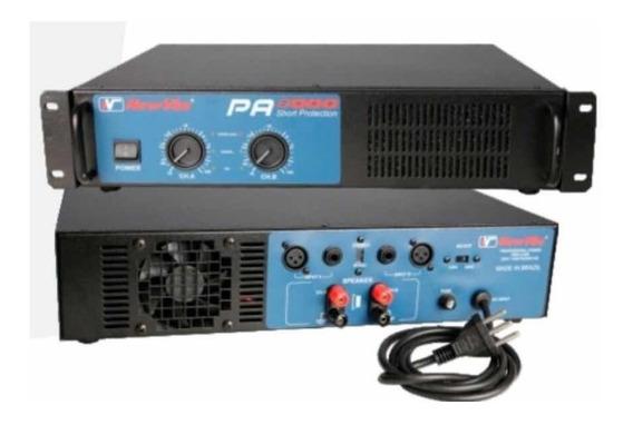 Amplificador Potência New Vox Pa 8000 - 4000w Rms C/ Nf