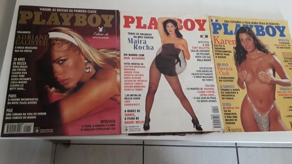 Kit Com 10 Playboy Adriane Galisteu, Maitê Proença Mais 8