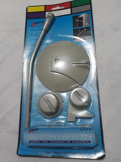Microfone Leadership 3,5mm Stereo