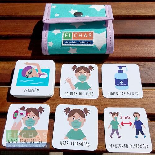 Porta Agenda Para Nena Pictos Avd Y Protocolo De Prevención