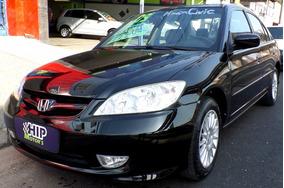 Civic 1.7 Ex Automatico 4p Completo Couro