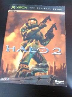 Libro Guia Oficial Halo 2 Original Usado En Ingles