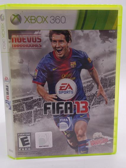Fifa 13 Xbox 360 Original Mídia Física