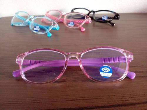 Imagem 1 de 6 de Óculos Infantil De Descanso Armação Sem Grau Para Estudo