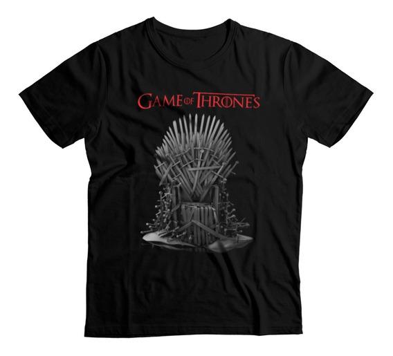 Game Of Thrones Trono De Hierro - Hombre Playera Xxl Xxxl