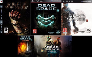 Dead Space Trilogy + 2 Dlc ~ Ps3 Digital Español