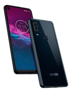 Motorola Moto One Action 128gb Negro 4gb Dual Sellado Libre