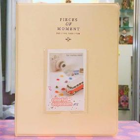 Álbum Amarelo Para Fotos Fuji Instax Mini 7s/8/9