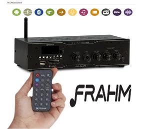 Amplificador Receiver Para Som Ambiente Frahm Slim1500 App!!