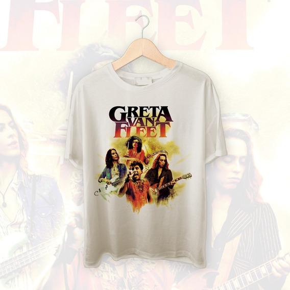 Camiseta Bigzóio - Rock - Greta Van Fleet, Integrantes