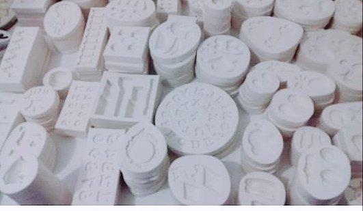 Promoção Kit Molde De Silicone 1,100 Kg