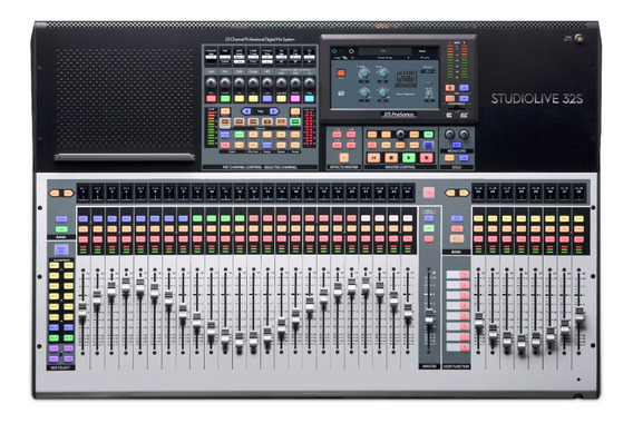 Mesa De Som Digital Presonus Studiolive 32s Novo Lacrado!