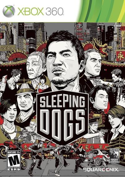 Frete10$ Jogo Sleeping Dogs Xbox 360 Original Lacrado Física