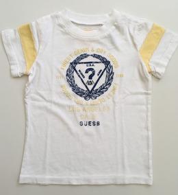 a987516fcc Guess Camiseta M curta Branca Tam 18 M Nova C etiqueta