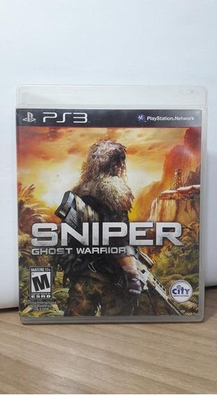 Sniper Ghost Warrior Ps3 Seminovo