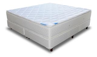 Colchón Y Sommier King 1.8x2, Doble Pillow, Morpheus, Wes C