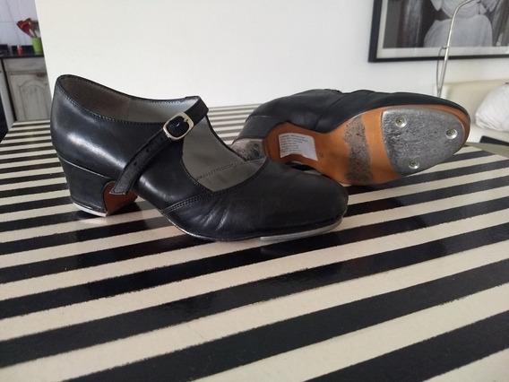 Zapatos Tap Cuero