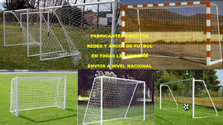Redes Para Arcos De Futbol 2*1.20 A Nivel Nacional
