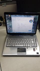 Hp Dv5-1240br Turion X2 Leitor Biométrico Hdmi Com Defeito