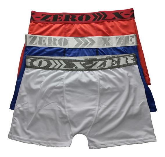 Kit Cuecas Box Boxer 12 Peças Original Revenda Varias Cores