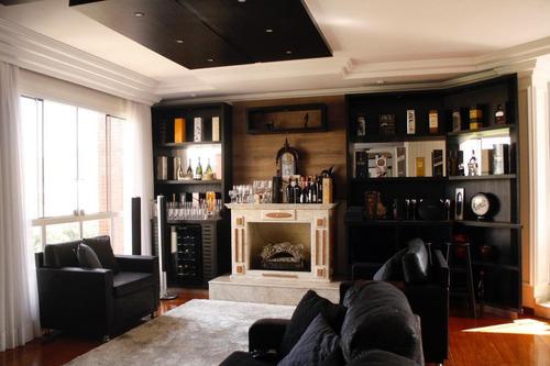 Imagem 1 de 30 de Apartamento Alto Padrão No Centro De Poços De Caldas - Mg - Ap0045_debom
