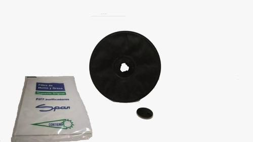 Combo Filtro Carbon Activado + Filtro Finito Espuma Spar