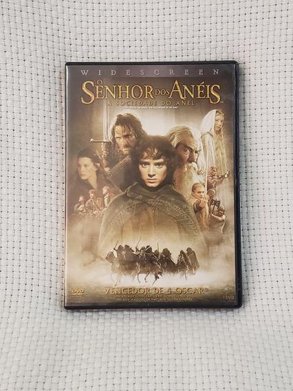 Dvd Filme O Senhor Dos Anéis - A Sociedade Do Anel