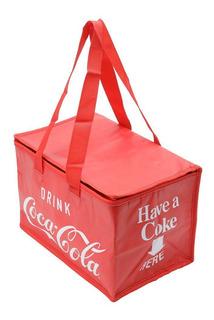Bolsa Térmica Coca-cola® Fechamento A Zíper, Poliester 43400