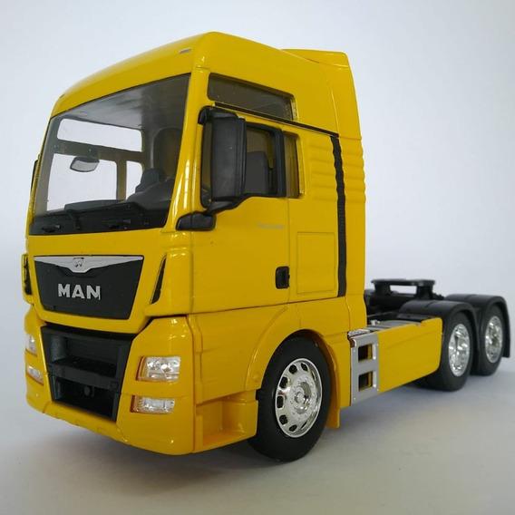 Miniatura Caminhão Man Tgx Trucado 6x2 Escala 1:32